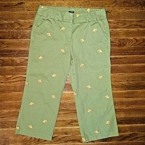 J.CREW Size 12 Capri Cropped Pants Favorit…